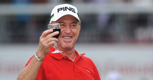 Jimenez: Celebrating in style