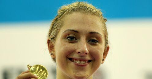 Trott: golden girl once again