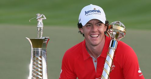 McIlroy: Pretty good year.
