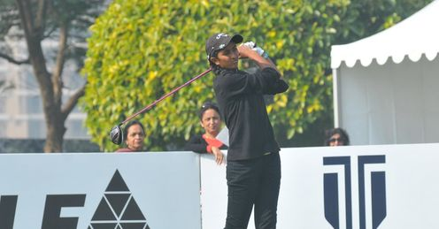 Aditi Ashok: Surprise at the top