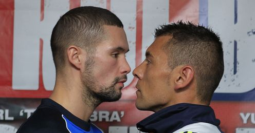 Liverpool one: Scouser Bellew (left) can move nearer to a world title by beating Bolonti
