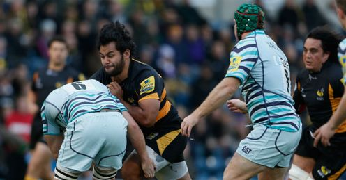 Billy Vunipola London Wasps v Leicester Tigers