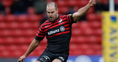 Charlie Hodgson Saracens Aviva Premiership