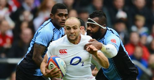 Left trailing: Fiji may be left behind in the world game, says Stuart