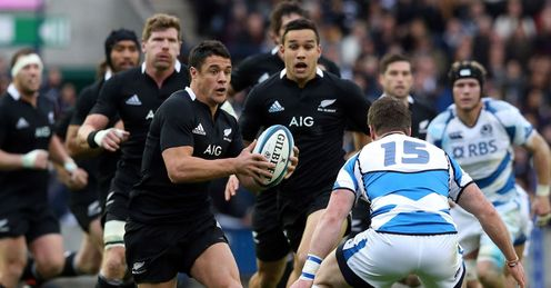Dan Carter: Demolished Scotland with his speed and vision