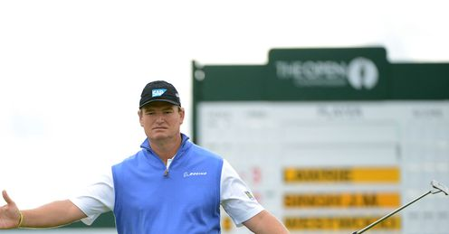 Ernie Els: Won the Open in 2012 with a belly putter