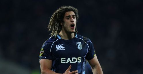 Josh Navidi for Cardiff Blues