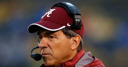 Saban: guided Alabama to the 2009, '11 and '12 National Championships