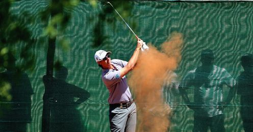 Nicolas Colsaerts: Tied for the lead