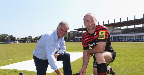 Artificial pitch gets the thumbs up from Steve Borthwick