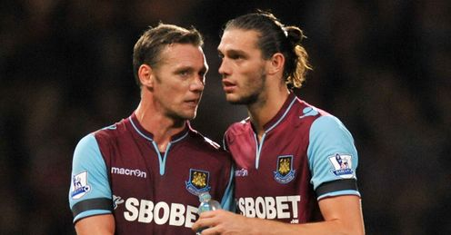 Nolan & Carroll: can see West Ham to victory over Stoke