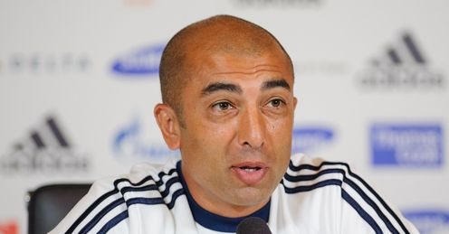 Di Matteo: the Italian&#39;s Chelsea team face a tricky tie with Shakhtar