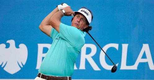 Phil Mickelson: On form