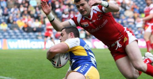 Rhys Williams Warrington 2012