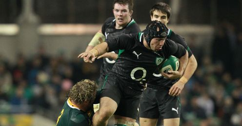 Richardt Strauss Ireland autumn internationals