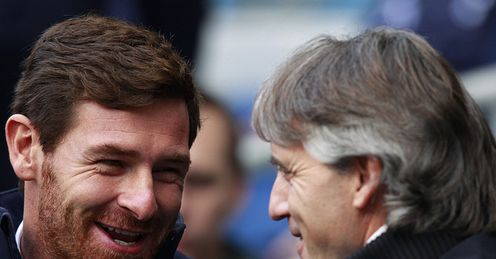 Villas-Boas: can he guide his side to victory over Mancini's men