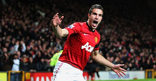 Van Persie: involved in two historic games last week