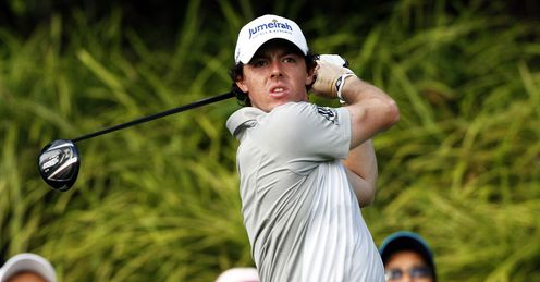 Roy McIlroy on the charge in Singapore