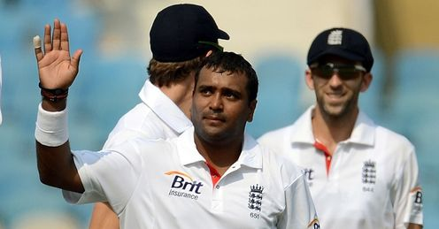 Samit Patel England v Mumbai A day three