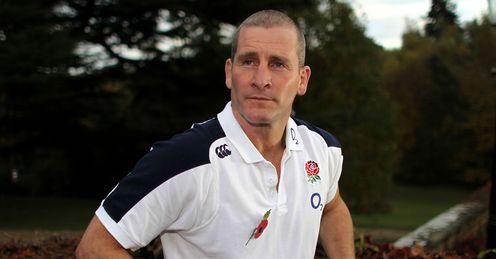 Stuart Lancaster England RU head coach 2012