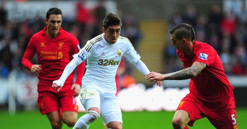 Agger (right): Was exposed against West Brom, says Jamie