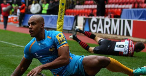 Tom Varndell Wasps Aviva Premiership