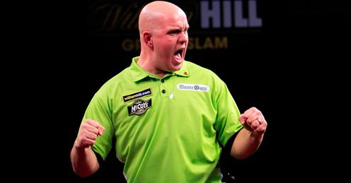 Van Gerwen: kicks off his campaign on Thursday