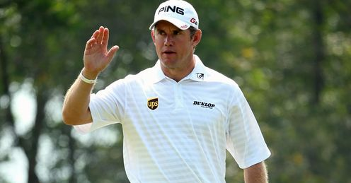 Chomping at the bit: Lee Westwood