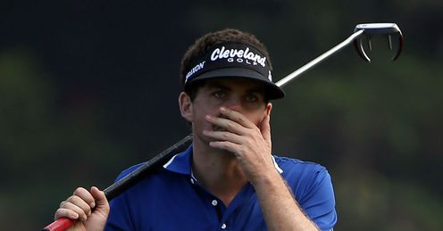 Keegan Bradley: Victim of some heckling
