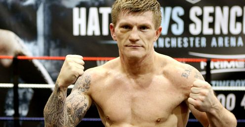 Hat stand: Hatton will return to the ring for the first time in over three years on Saturday