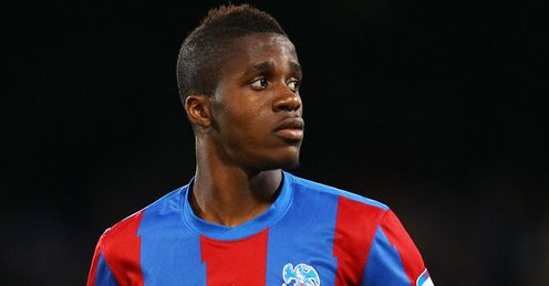 Zaha: called into the England squad for Wednesday's friendly with Sweden
