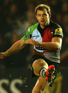 Nick Evans Harlequins v Worcester Warriors Aviva Premiership Twickenham Stoop