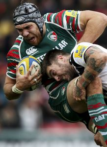 Matt Banahan Bath Graham Kitchener Leicester Tigers