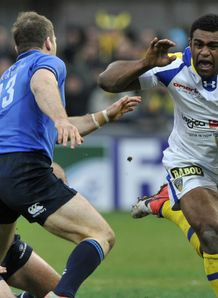 Napolioni Nalaga Clermont Auvergne v Leinster Heineken Cup Pool 5 Stade Marcel Michelin