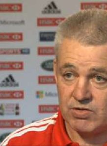 Gatland explains tour selection