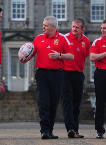 British and Irish Lions Graham Rowntree Rob Howley Andy Farrell Warren Gatland 2