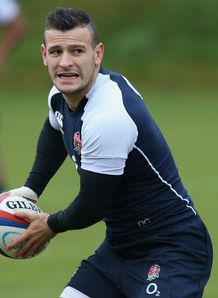 Danny Care England training