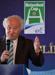 ERC Chairman Jean Pierre Lux takes part in a press conference