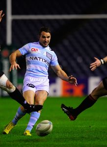 Edinburgh v Racing Metro Olly Barkley