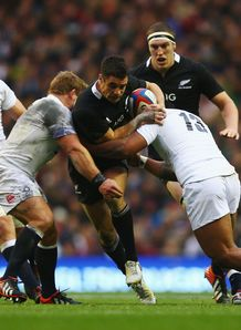England v New Zealand Dan Carter