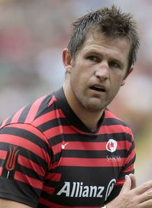 Ernst Joubert Saracens Aviva Premiership