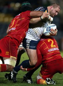 Euan Murray Worcester Warriors 2012