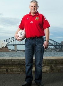SKY_MOBILE Warren Gatland - British & Irish Lions