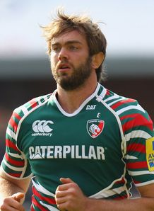 Geoff Parling Leicester Tigers AVP 2012