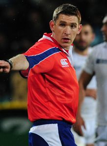 George Clancy Referee RWC 2011