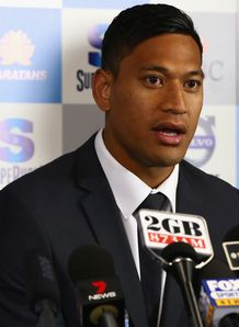 Israel Folau signs for NSW Waratahs 2012