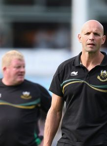 Jim Mallinder Northampton Saints training 2012