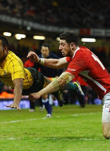 Kurtley Beale Try Wales