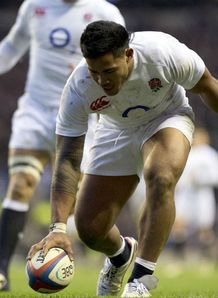 Manu Tuilagi try England v New Zealand