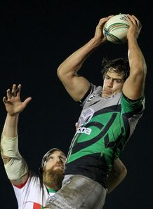 Mike McCarthy Connacht v Biarritz HEC 2012